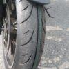 ジクサーに、タイヤIRC-RX03(SPEC-R)を入れてみた
